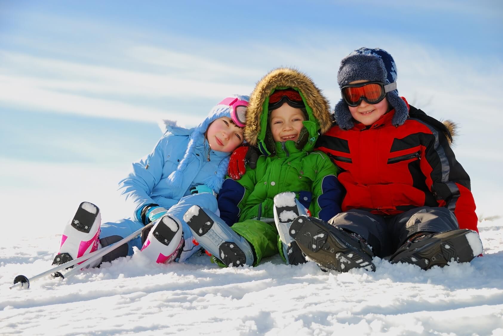 Enfants vacances alpes d'huez