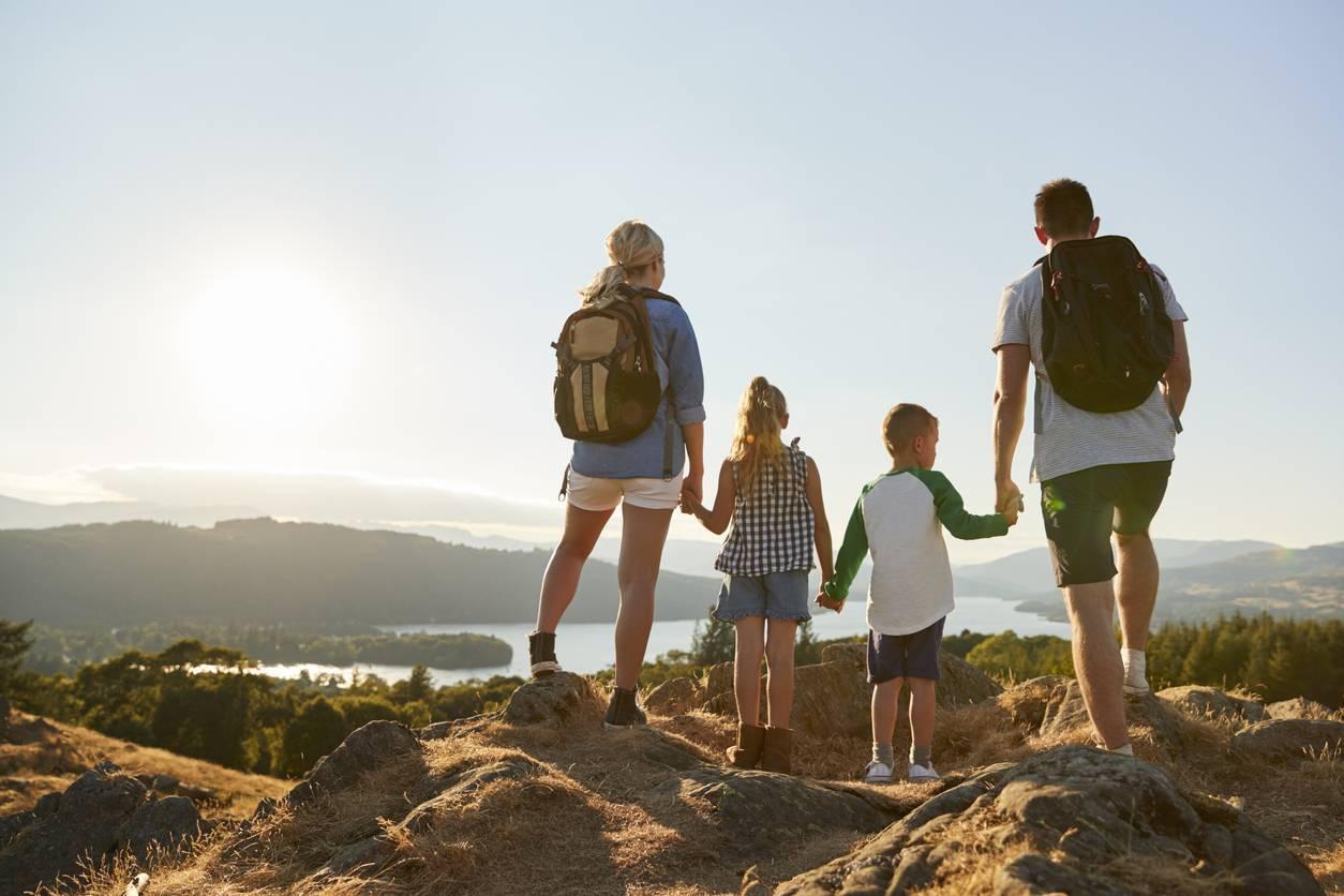 randonnée famille