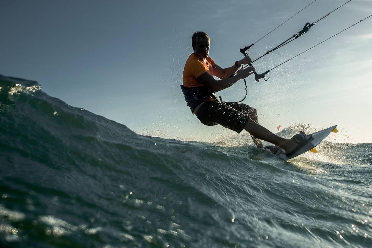kitesurf hérault camping vias plage